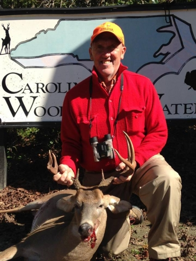 Big Buck on first week of North Carolina black powder season