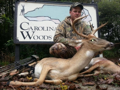 North Carolina deer season has begun and look at this whitetail buck!
